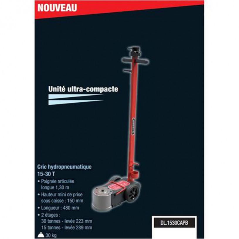 Cric hydopneumatique 15-30 t - Facom DL.1530CAPB FACOM