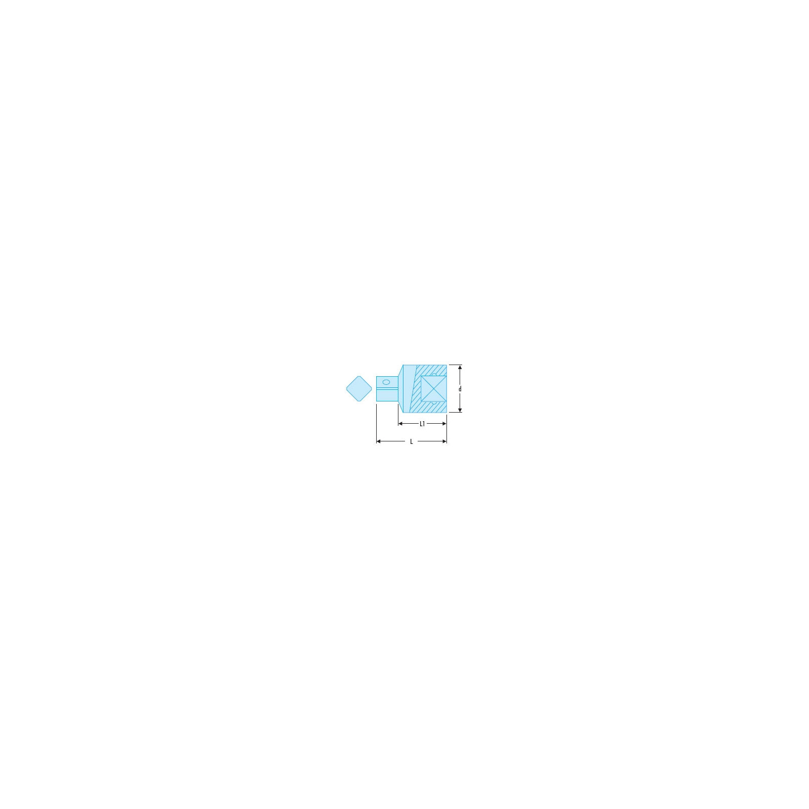 Réducteur 3/8 à 1/4 - Facom J.230