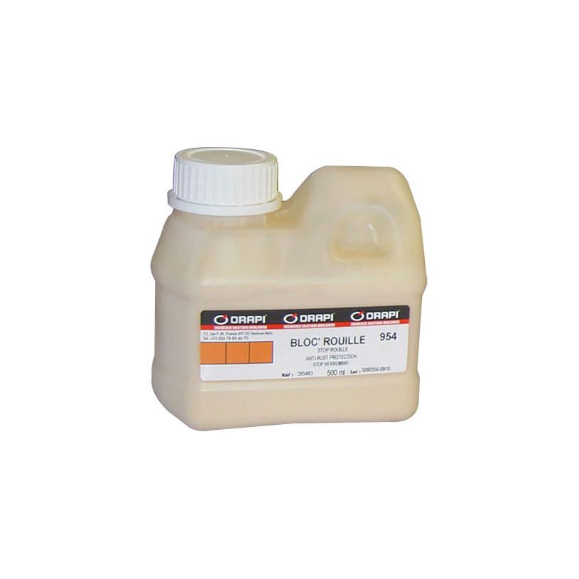 Traitement curatif antirouille BLOC ROUILLE bidon 0,5 L - Orapi 954 ORAPI