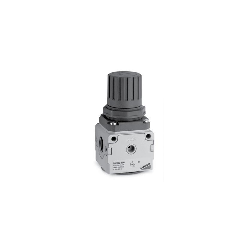Régulateur de pression Camozzi Taille 1 - G1/4 - livré sans manomètre CAMOZZI