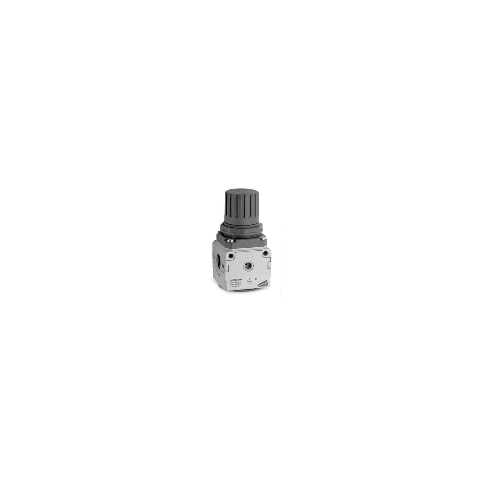 Régulateur de pression Camozzi Taille 1 - G1/4 - livré sans manomètre
