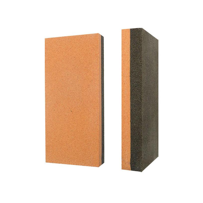 Pierre à huile rectangulaire 50x25x150 mm Bi-matière GR220 et GR400 SEA